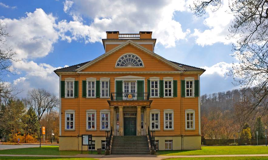 Mein Ausstellungsort beim Denkmal!Kunst - KunstDenkmal 2017 Festival ist die Villa Schachtrupp in Osterode am Harz.
