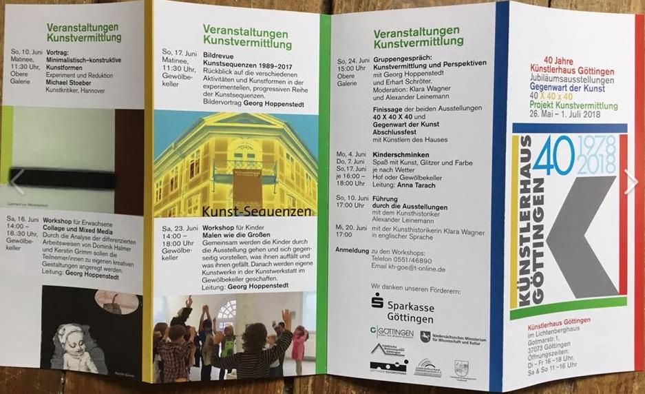 Göttinger Künstlerhaus Jubiläumsausstellung