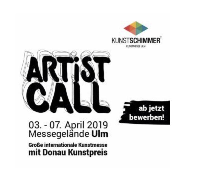 KUNSTSCHIMMER 7 Große internationale Kunstmesse Ulm mit Donau Kunstpreis