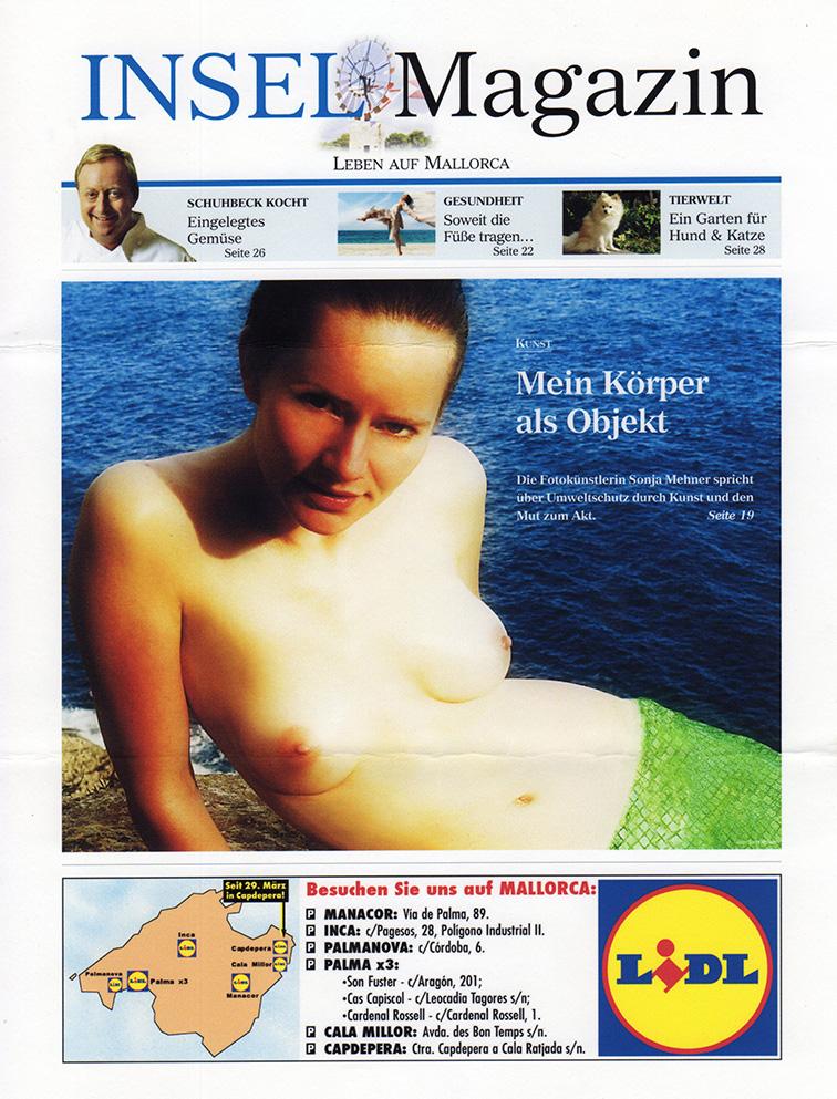 Mein Körper als Objekt! Fotokunstprojekt zum Thema Umweltschutz und Naturgeister auf Mallorca. Ich danke Martin Maul für seine Unterstützung.