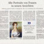 """Zeitungsartikel vom Göttingen Tageblatt vom 26. September 2017 über Sonja Mehner. Buchveröffendlichung """" Starke Frauen im Spiegel der Zeit"""" Ausstellung : """" Denkmal! Kunst 2017"""